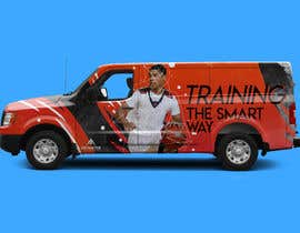 #9 for Design a Car Wrap for a Nissan NV 3500 by mahmoudhassany