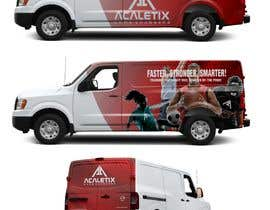 #42 for Design a Car Wrap for a Nissan NV 3500 by Jbroad