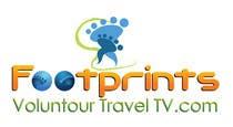 Graphic Design Конкурсная работа №96 для Logo Design for Footprints Voluntour Travel Tv