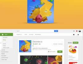 Nro 7 kilpailuun Design App Icon for Mobile Game (like Slither.io) käyttäjältä leandeganos
