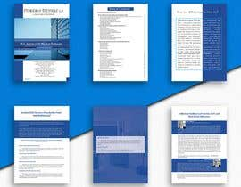 #34 untuk Layout and Design of Brochure and PowerPoint oleh takukdershahanaz