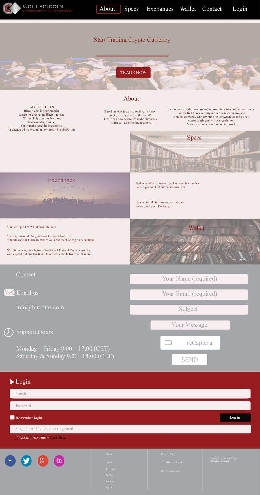 Entry 31 By Desertrose1 For Wordpress Website One Page Scrolling