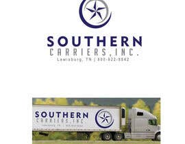 #29 para Logo Design for Southern Carriers Inc por SteveReinhart