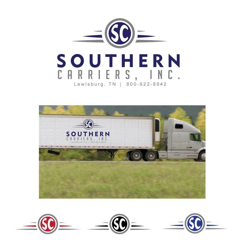 Kilpailutyö #                                        8                                      kilpailussa                                         Logo Design for Southern Carriers Inc