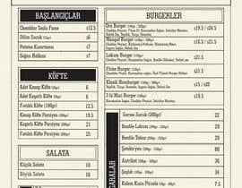 dsavio tarafından Modify already designed menu with new prices and alter some changes için no 7