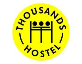 #94 for Thousands Hostel [Logo Contest] by bangpoltak