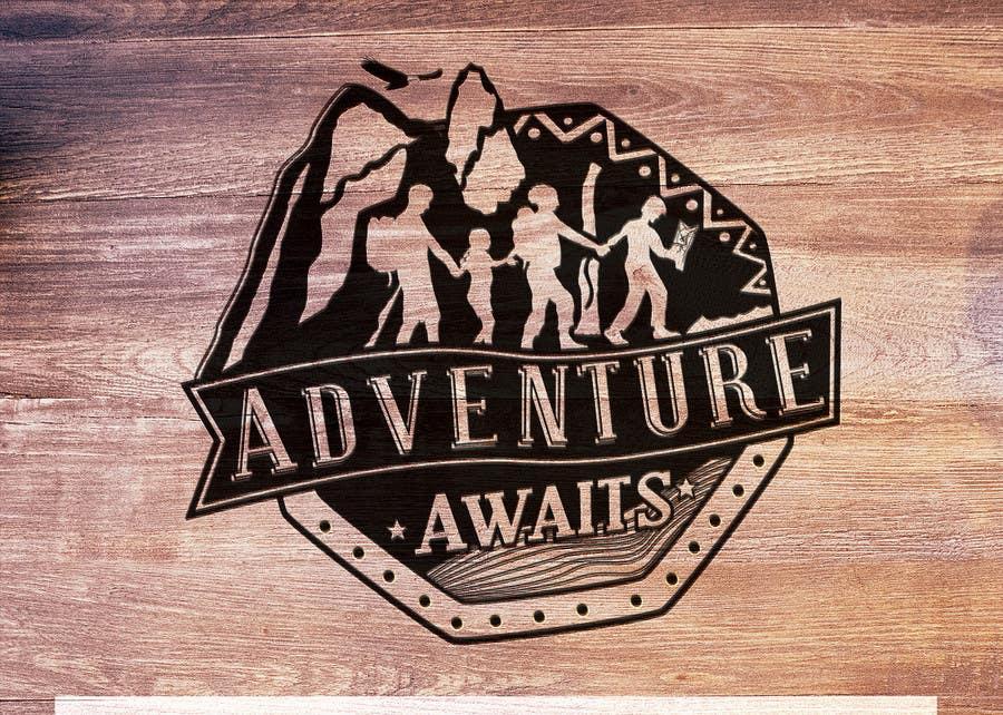 "Kilpailutyö #                                        94                                      kilpailussa                                         Design a Logo for a Family Adventure Company ""Adventure Awaits"""