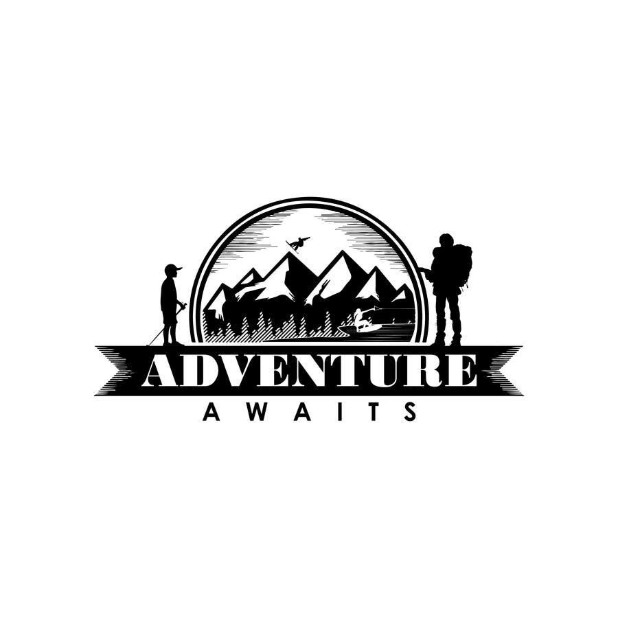 "Kilpailutyö #                                        87                                      kilpailussa                                         Design a Logo for a Family Adventure Company ""Adventure Awaits"""