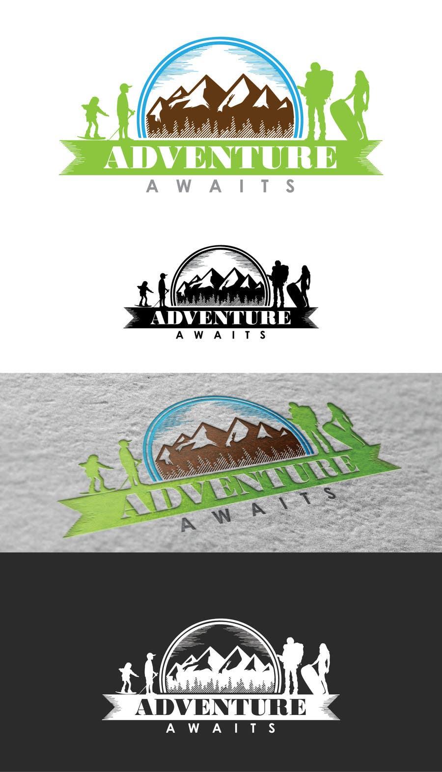 "Kilpailutyö #                                        88                                      kilpailussa                                         Design a Logo for a Family Adventure Company ""Adventure Awaits"""