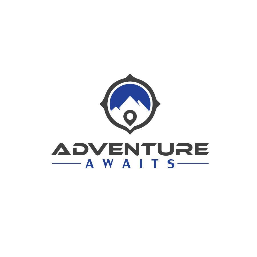 "Kilpailutyö #                                        58                                      kilpailussa                                         Design a Logo for a Family Adventure Company ""Adventure Awaits"""