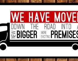 #18 para We have moved sign de heypresentacion