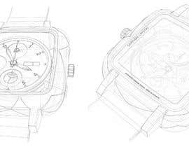 #36 for WATCH DESIGN SCRATCH / ILLUSTRATION - HIGH QUALITY by Alessiodr