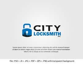 #115 for Logo Design for City Locksmith Inc. by AbsoluteArt