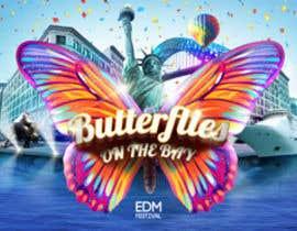 #44 untuk Butterflies on the Bay Music Festival oleh madartboard