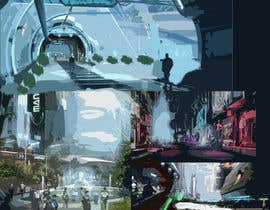 #22 for Design a 3D city for a videogame af pashachekhurskiy