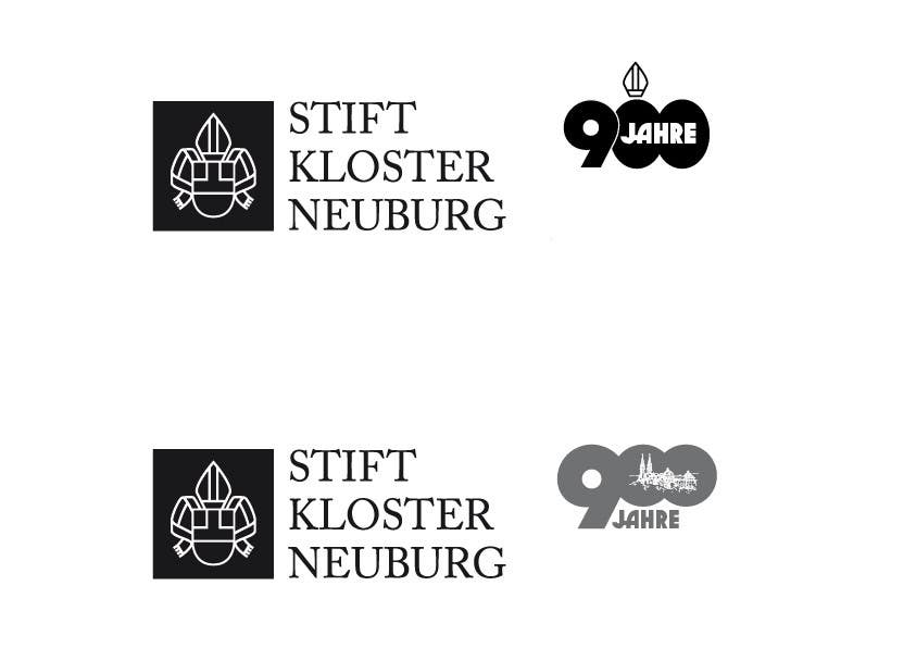 """Inscrição nº                                         61                                      do Concurso para                                         Logo Design for """"900 Jahre Stift Klosterneuburg"""""""