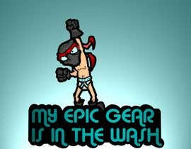 #99 for Gaming theme t-shirt design wanted – Epic Gear af badradio83