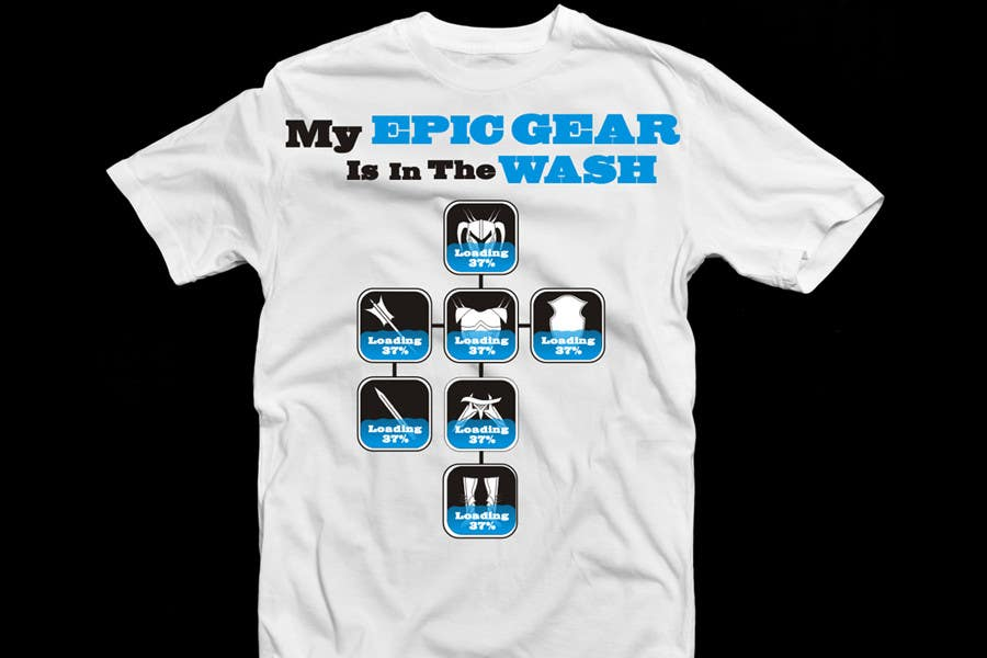 Contest Entry #                                        74                                      for                                         Gaming theme t-shirt design wanted – Epic Gear