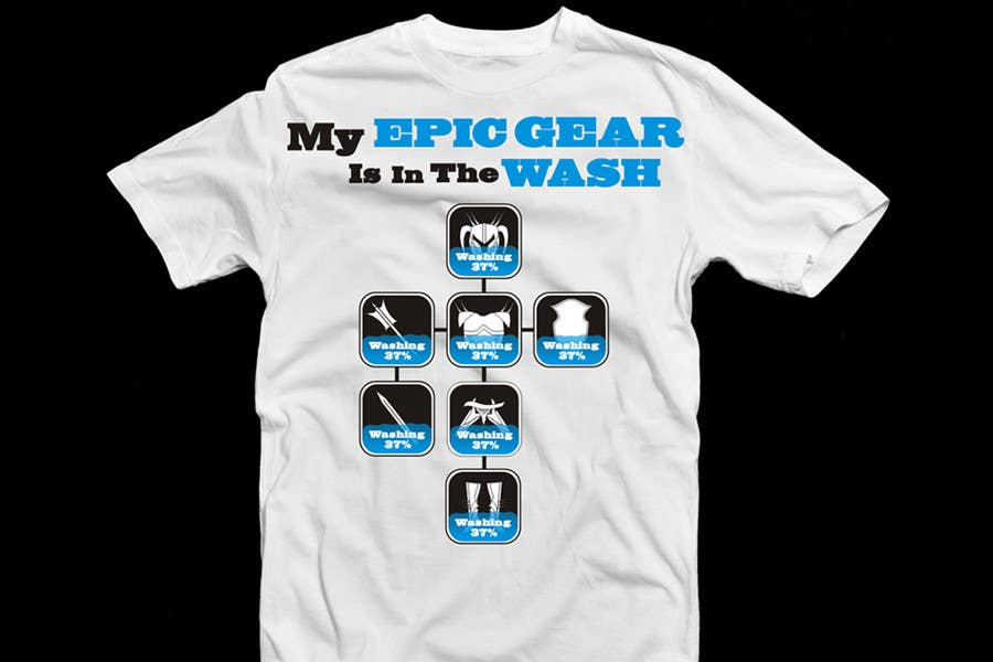 Contest Entry #                                        91                                      for                                         Gaming theme t-shirt design wanted – Epic Gear