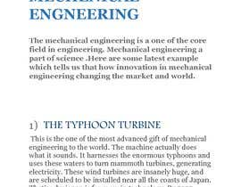 #5 for Write some Articles on Innovations in Mechanical Engineering by GARVIT2000