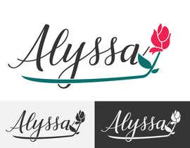 "Nro 27 kilpailuun I would like a logo designed for "" Alyssa Rose"" I was thinking a design with the name Alyssa and a rose in it some where. This is more of a brand. Please any creative ideas will be considered. käyttäjältä MareGraphics"
