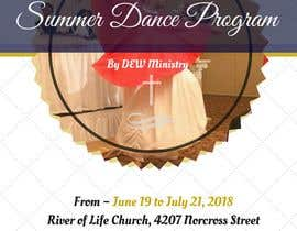 #99 for Summer Dance Program Flyer by ankushchak