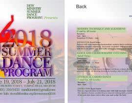 #98 for Summer Dance Program Flyer by peterjike