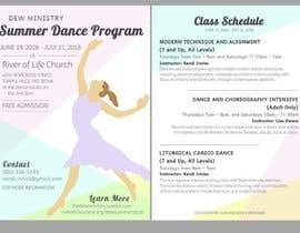 #97 cho Summer Dance Program Flyer bởi nnayram923