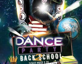 #34 for flyer design for a dance party -- 2 by sidraahmad