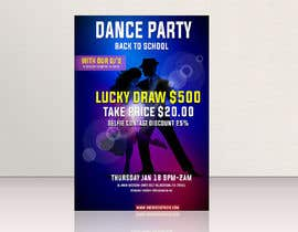 #41 for flyer design for a dance party -- 2 by Proshantomax
