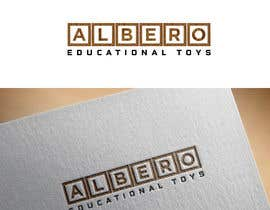 #55 para Design a Logo - Albero Educational Toys de mdrozen21