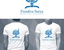 #77 for Freedive Surya T-shirt by MHYproduction