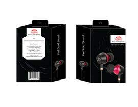 #4 for Create Clean Design For In Ear Headphones Packaging (Think Apple/Bose) af eling88