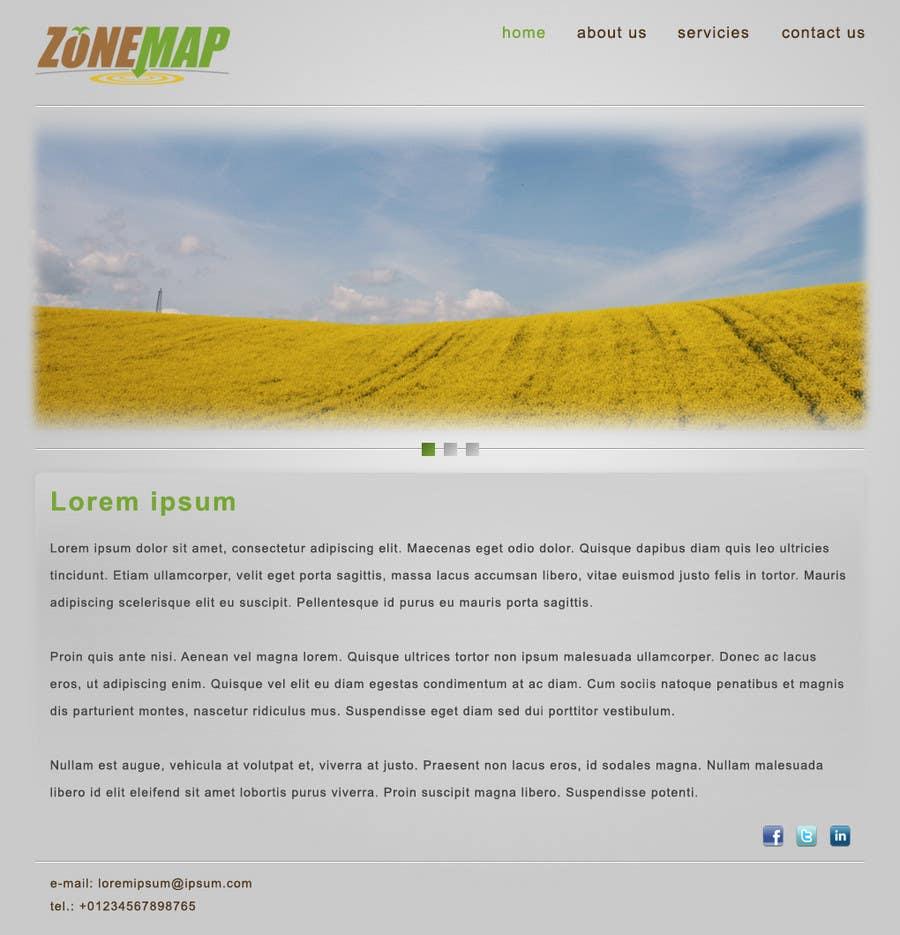 Bài tham dự cuộc thi #24 cho One page Brochure Site Design
