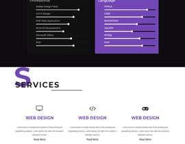 #22 for Build a HTML/CSS portfolio by adreetanipa