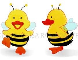 #62 for Create a bee duck by khoiruunisa