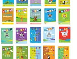 #55 untuk Design Milestonecards for Babies oleh gavinbrand