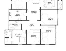 #6 for Make a house floor plan by arcalaamohamed
