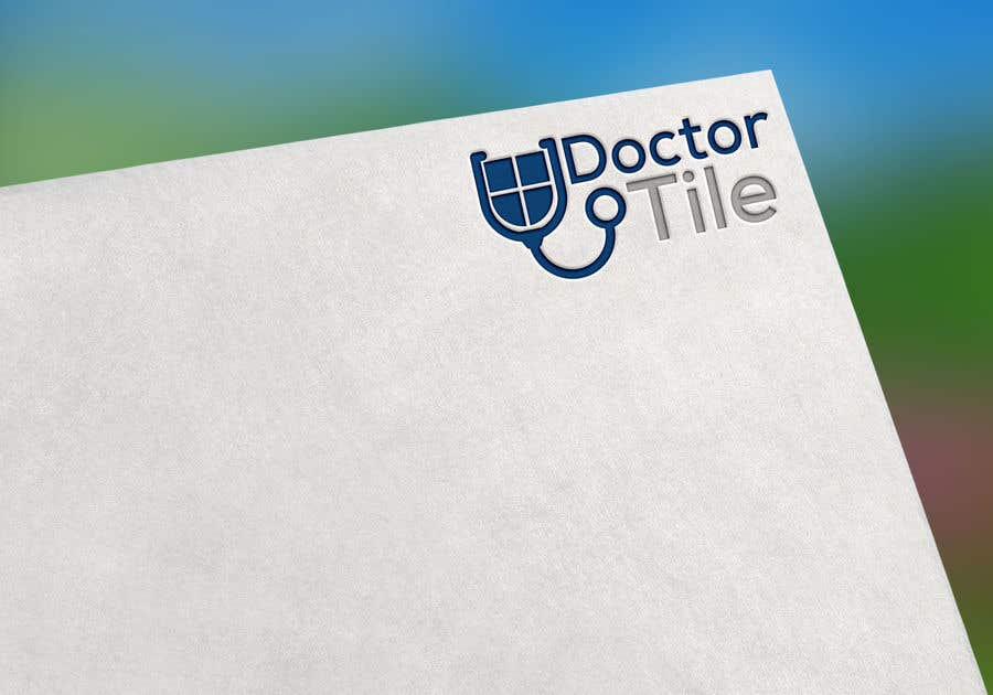 Contest Entry #77 for DoctorTile - Logo & Corporate Color Scheme