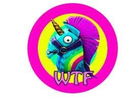 jonsgfx tarafından I need a logo illustration (Lama Unicorn) için no 8