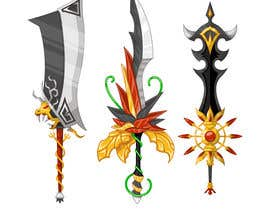 nº 12 pour Design A Sword for Mobile RPG Game. par satherghoees1
