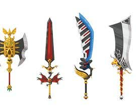 nº 7 pour Design A Sword for Mobile RPG Game. par sydgriffiths