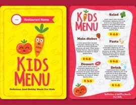 #35 for Kids Menu Design Templates af asifnaim