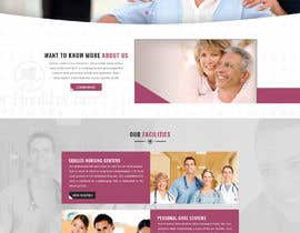 nº 13 pour Design a Home Page and Facilities page in Photoshop par Minhal110