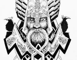 #26 for Create a Traditional Viking/Norse Tattoo Design af GiancarloGArt