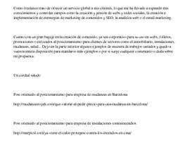 #6 for Copywriter para pagina web by bicNaranja