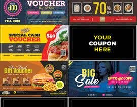 #6 para Graphic Design for Coupons and Flyer de MohsinButt19