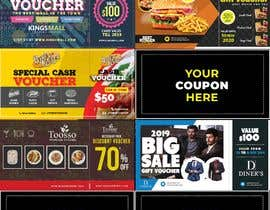 #32 para Graphic Design for Coupons and Flyer de MohsinButt19