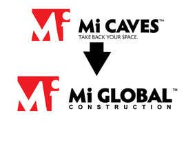 "#16 for I need a logo with the exact same as the attached ""Mi Caves"" logo but instead of ""Mi Caves"" it needs to say ""Mi Global Construction"" in the exact same font and boldness by Mostafiz600"