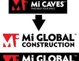 "#27 for I need a logo with the exact same as the attached ""Mi Caves"" logo but instead of ""Mi Caves"" it needs to say ""Mi Global Construction"" in the exact same font and boldness by Mostafiz600"